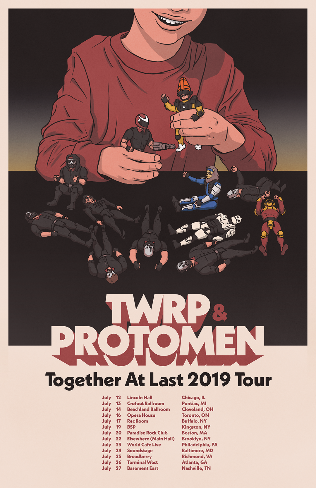 18d94904 Protomen and TWRP Tour 2019